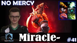 Miracle - Juggernaut Safelane | NO MERCY | Dota 2 Pro MMR Gameplay #41