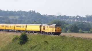 31233 ,3z01 Test Train @ Newton st Loe, Bath...26-08-13