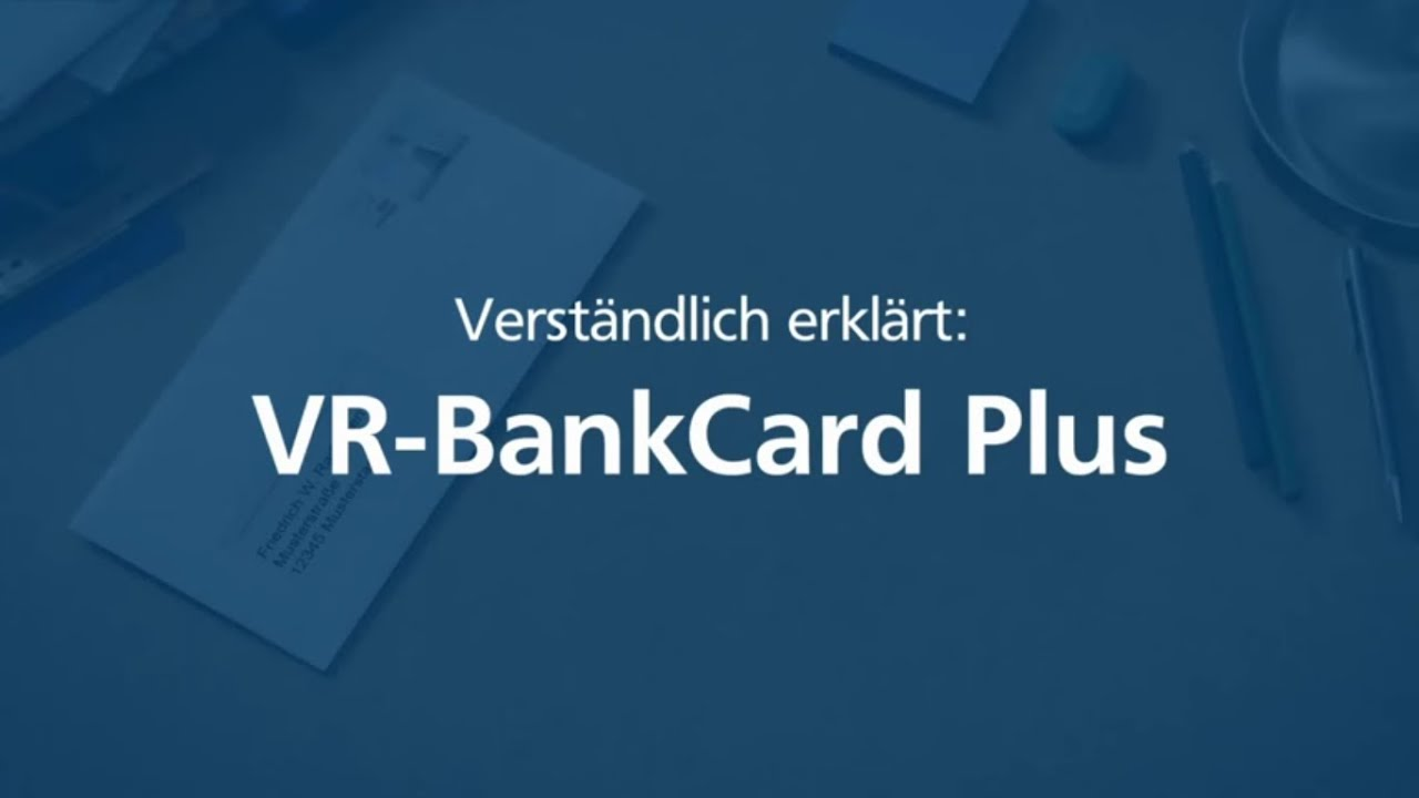 Kartennummer Volksbank Debit.Die Vr Bankcard Plus Mitgliederkarte Einfach Erklart
