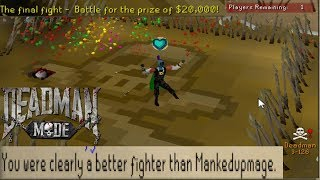 I Literally Could Have Won 20,000 Dollars Playing RUNESCAPE
