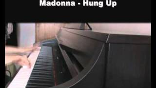 Madonna - Hung Up - piano cover