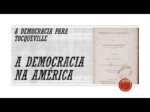 A democracia para Tocqueville