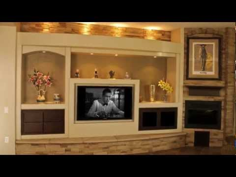 Thunderbird Custom Design - Custom Media Walls & Drywall Entertainment Centers