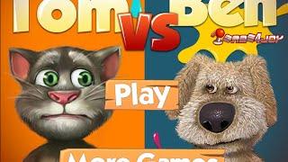 TALKING TOM vs. BEN New Gameplay Video For Children 2015
