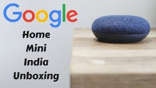 Google Home Mini First India Unboxing & Setup