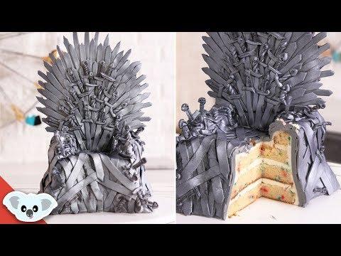 GAME OF THRONES  Iron Throne Cake | Cake Art | Koalipops