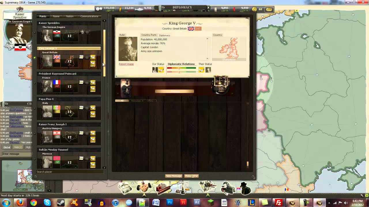 Supremacy 1914 - The Great War Strategy Game - International