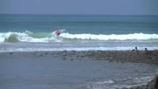 Fred Patacchia Wins - Trestles World Tour Surfing Event 2013 - Round 2 Heat 10