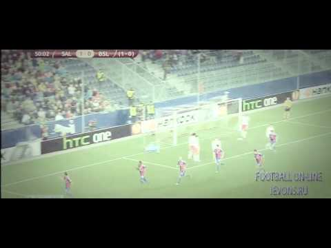 Red Bull Salzburg 1-2  Basel  ~  Europe League All Goals & Highlights 20 03 2014