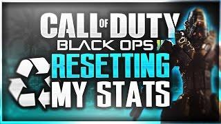 "RESETTING MY STATS?!?! BO3 ""Fresh Start"" (Call of Duty: Black Ops 3 PRESTIGE INFO)"
