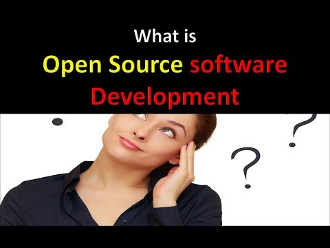 What is Open source software development