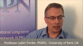 Prof Julien Forder, PSSRU, University of Kent, UK