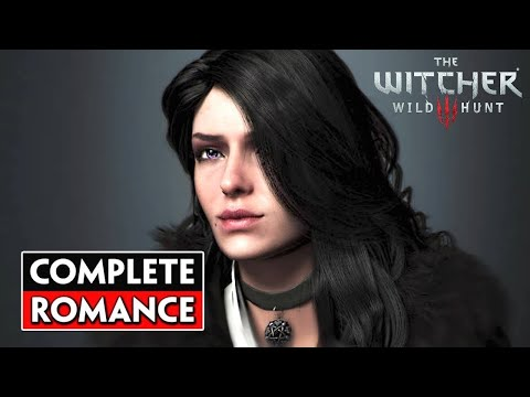 Complete Yennefer Romance: All Cutscenes, Base Game + Expansions I The Witcher 3