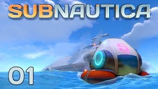 Subnautica #01 - Nummer 5 lebt [Gameplay German Deutsch] [Let