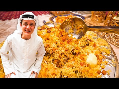 Authentic EMIRATI FOOD & Attractions in Dubai | World's Tall