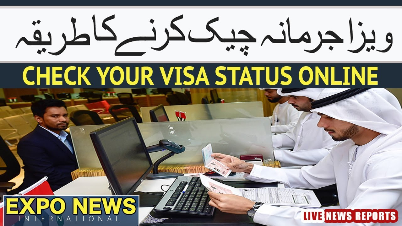 HOW TO CHECK VISA FINES STATUS ONLINE : VISA EXPIRY DATE : VISA OVERSTAY : DUBAI SAUDI ARABIA UK USA