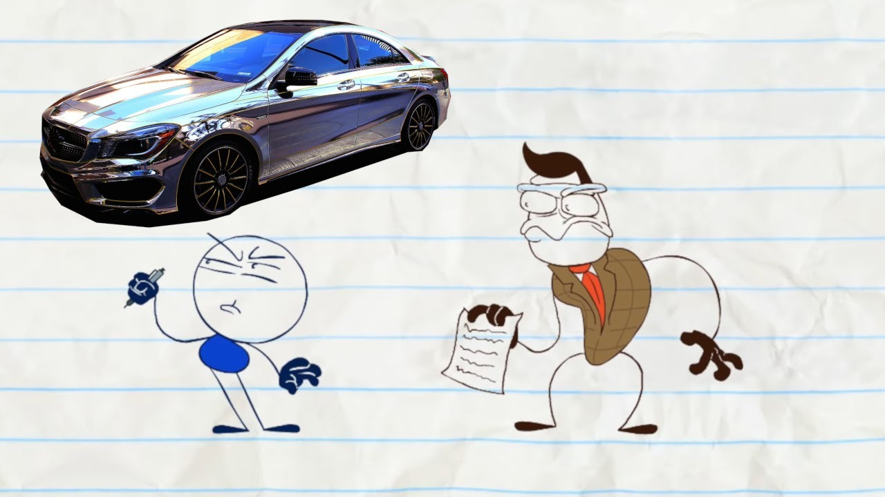 Will He Buy The Car? | Animated Cartoons Characters | Animated Short Films