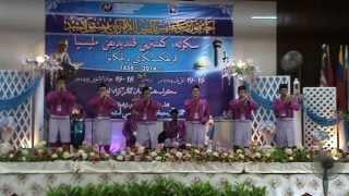 Johan Festival Nasyid Peringkat Negeri Terengganu 2014 (Smk Tengku Mahmud 2)