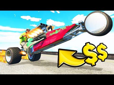 *NEW* $2,500,000 WHEELIE TRIKE! (GTA 5 DLC)
