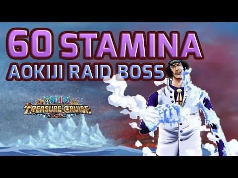 Walkthrough for Aokiji 60 Stamina Raid...