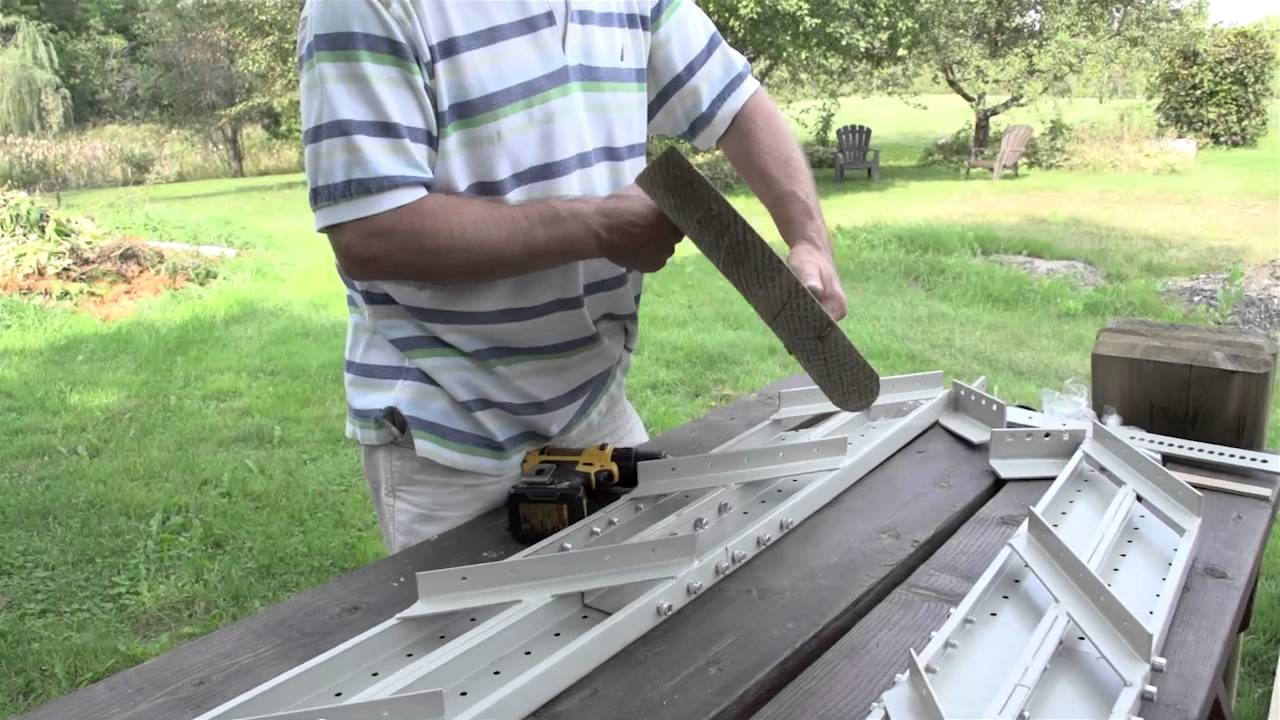 Fast Stairs: Steel Stair Stringers Assembly Tutorial   YouTube