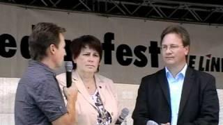 Margit Jung (MDL) - Ralph Lenkert (MdB) Gesprächsrunde  mit dem Vorsitzenden DIE LINKE. in Gera