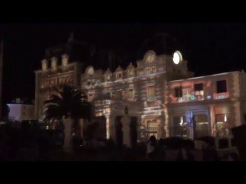Biarritz en Lumières . Casino Bellevue
