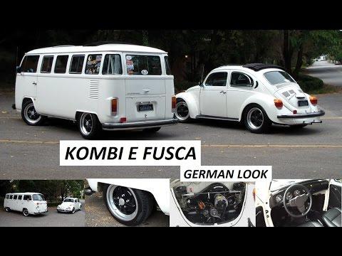 Garagem do Bellote TV: Fusca e Kombi (German look)