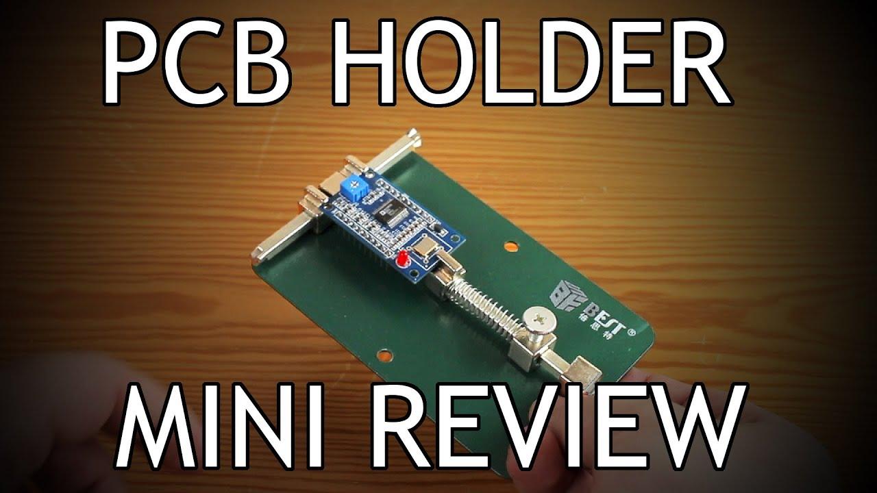 Universal Pcb Holder Review Youtube Metal Circuit Board Repairing Repair Tool For Mobile Phone