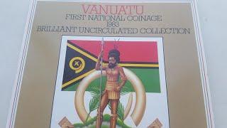 Вануату Годовой набор монет 1983 года