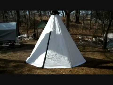 DIY TYVEK TENT (PART 1) & DIY TYVEK TENT (PART 1) - YouTube