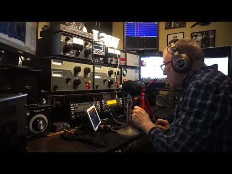 Ham Radio Basics--On The Air Series--Jim W6LG Hears G3VM In the UK Calling CQ 5200 Miles