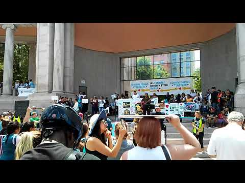 Adolfo Romero Live At The Families Belong Together Rally June 30 Denver