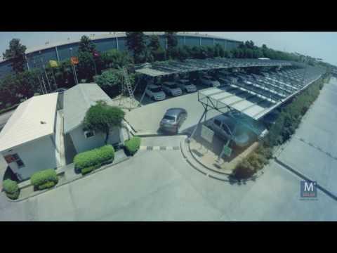 Carport Solar Power plant at Botil India Ltd by Amplus Solar