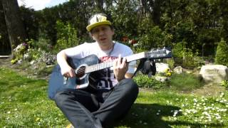 Simple Plan Perfect Cover Vocal/singing Cover On Acoustic Guitar & Happy Easter 2014 By Nescafex