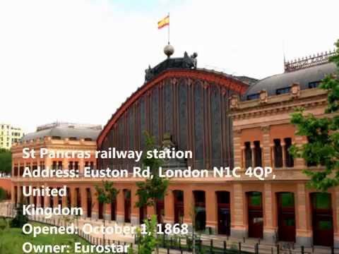 St Pancras railway station 2016