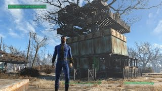 Fallout 4 My First Base, Tree House