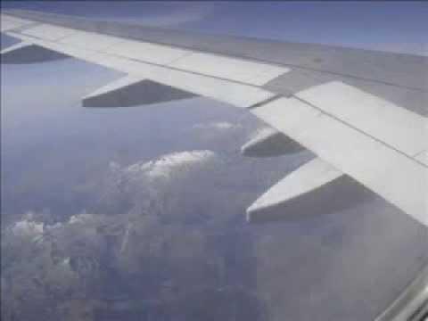Monarch A320 Flight:  Barcelona - Manchester September 2006