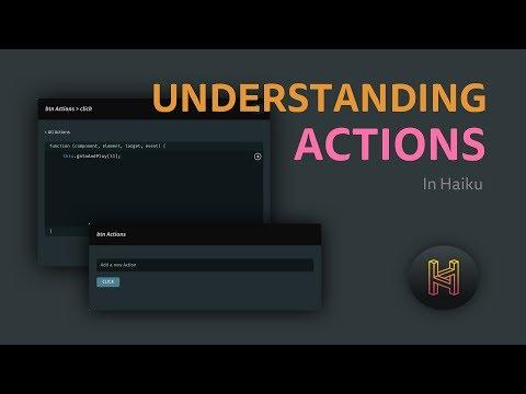 Understanding Actions in Haiku