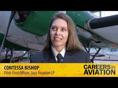 Careers in Aviation 2015 - Contessa Bishop, Pilot-First Officer, Jazz Aviation LP