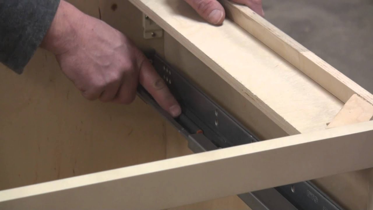 to the img easy attach dresser way drawer how slides step drawers mount install of house bottom