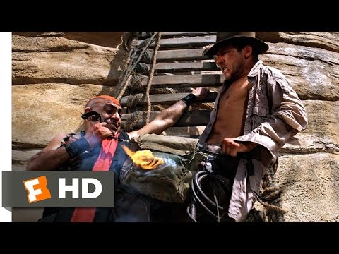 Indiana Jones and the Temple of Doom (10/10) Movie CLIP - The Stones Are Mine! (1984) HD