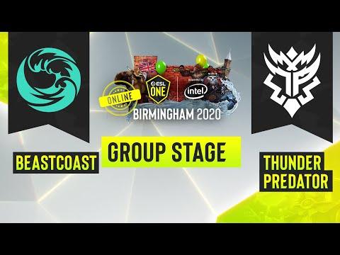 VOD: beastcoast vs TP - ESL One Birmingham - Game 2