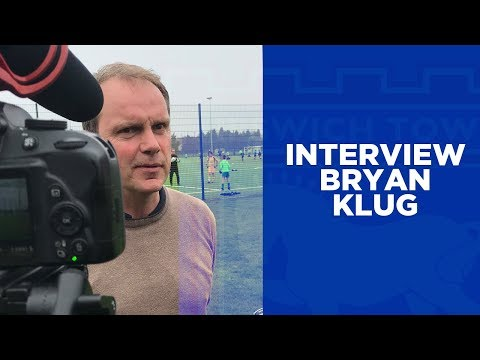 Bryan Klug's First Interview as Ipswich Town's Caretaker Manager