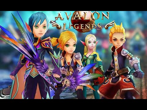 Avalon Legends Android IOS Gameplay (Online RPG)