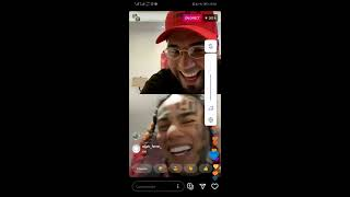 ANUEL AA  with 6IX9INE  full live instagram first time - 12.06.2020