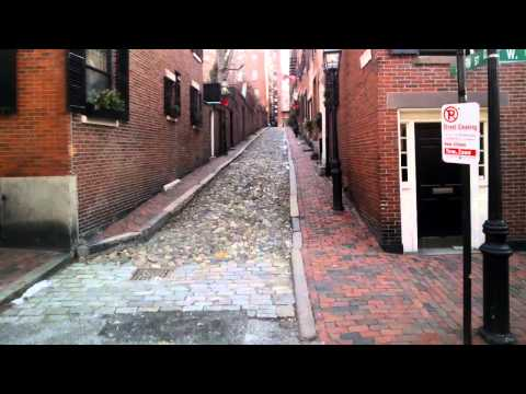 Google Glass Boston: Beacon Hill