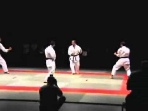 Sensei Frank Brennan fight demonstration