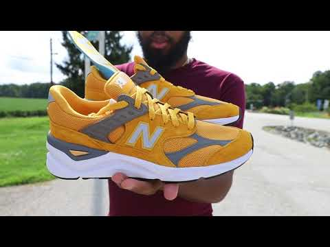 31ecb2e9 New Balance X-90 (Dope or Nope) + On Foot - YouTube