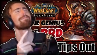 "Asmongold Reacts to ""Why Blackrock Depths is the Greatest MMORPG Dungeon of all time"" by Tips Out"